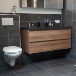 Verbouwing badkamer in Oosterwolde